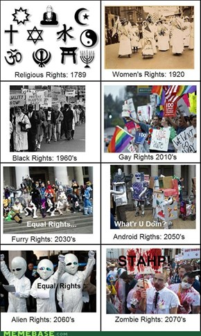 Equal Rights. It's serious stuff!