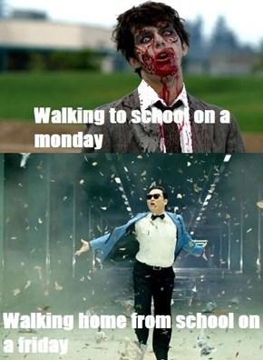 Friday Gangnam Style