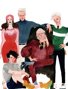 A Stylish Magneto and Family