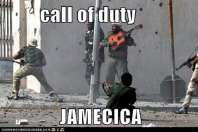 call of duty                JAMECICA