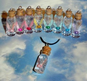Quiet Zelda Fairy in a Bottle