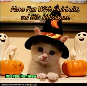 Have Fun With Hairballs,  vol #3: Halolween