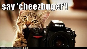 say 'cheezbuger'!