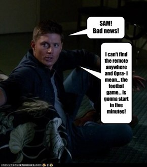 SAM!  Bad news!