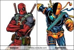 deadpool Totally Looks Like deathstroke