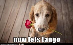 now lets tango