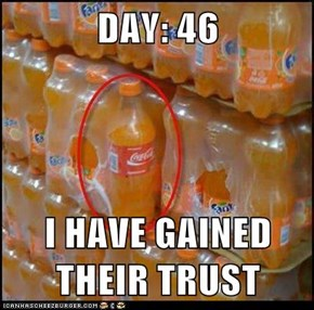 DAY: 46  I HAVE GAINED THEIR TRUST