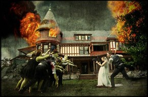 Zombie Wedding For the Ages