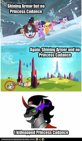 Shining Armor but no Princess Cadance