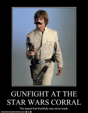 GUNFIGHT AT THE STAR WARS CORRAL