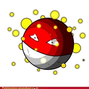 Voltorb used Charge!