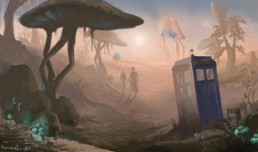 The Doctor in Morrowind