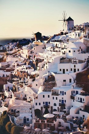 The Steps of Santorini, Greece