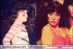 DianeMarie, Halloween 1976 Totally Looks Like Superchick from Kaptain Kool and the Kongs