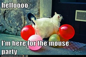 helloooo  I'm here for the mouse party