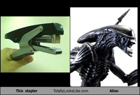 This  stapler Totally Looks Like Alien