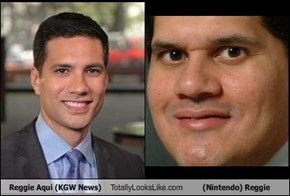 Reggie Aqui (KGW News) Totally Looks Like (Nintendo) Reggie