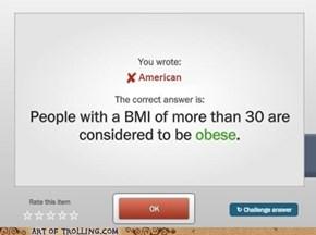 BMI lie??