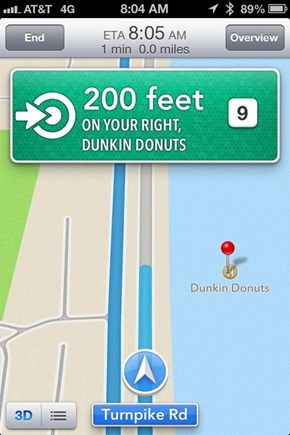 Apple Maps, Wat R U Doin'? Apple Maps. Stahp.