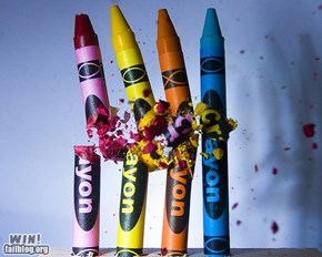 High-Speed Photography Crayons WIN