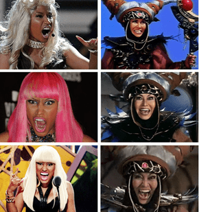 Nicki Minaj is Basically Just a Rita Repulsa Clone