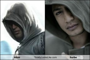 Altair Totally Looks Like Scribe