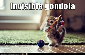 Invisible gondola