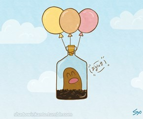 Diglett Wednesday: Diglett Can Fly
