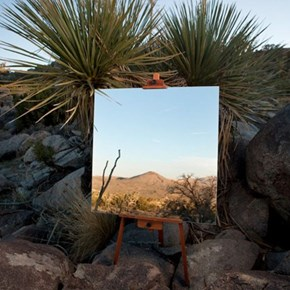 No Easel, Just a Mirror