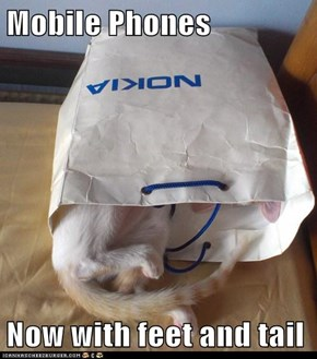Mobile Phones  Now with feet and tail