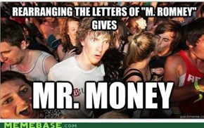 What's in M. Romney's name