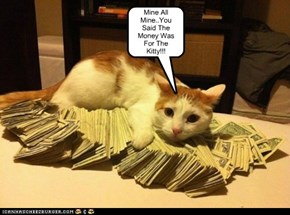 Money For The Kitty!!!