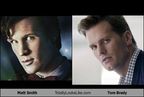 Matt Smith Totally Looks Like Tom Brady