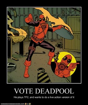 VOTE DEADPOOL