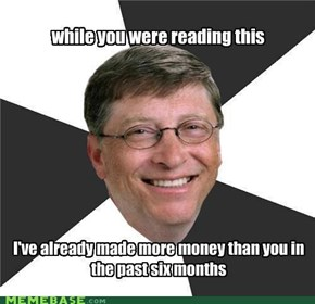 Trolling Bill Gates