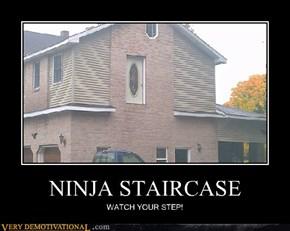 NINJA STAIRCASE