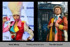 Nicki Minaj Totally Looks Like The 6th Doctor