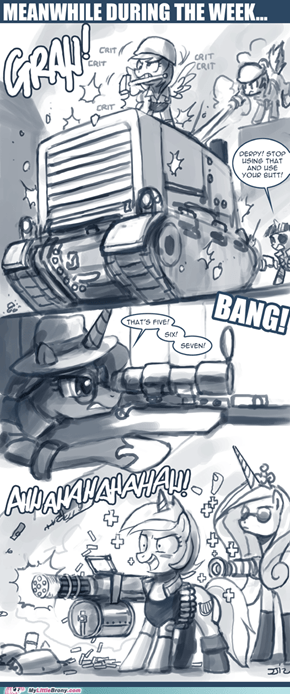 pony vs machine