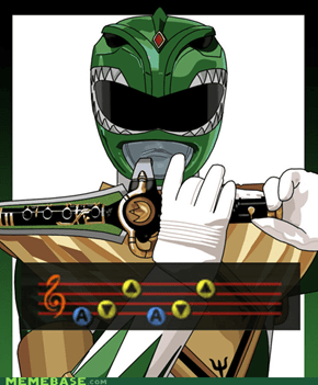 Ocarina of Morphin' Time!