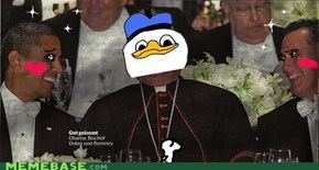 Dolan with Obama-chan and Romney-sama