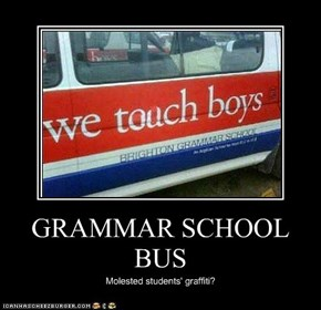 GRAMMAR SCHOOL BUS