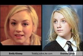 Emily Kinney / Evanna Lynch