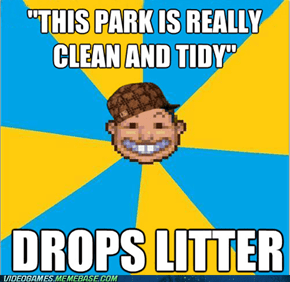 Scumbag RollerCoaster Tycoon Guest