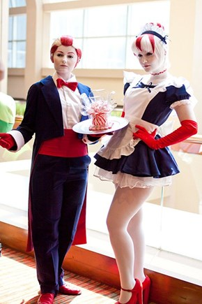 Peppermint Butler and Peppermin Maid