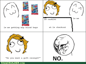 It's not a gift