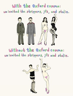 Support the Oxford Comma