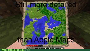 More precise than Apple Maps