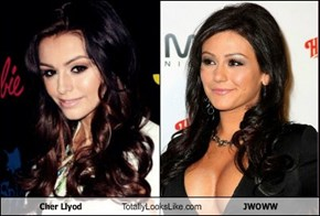Cher Llyod Totally Looks Like JWOWW