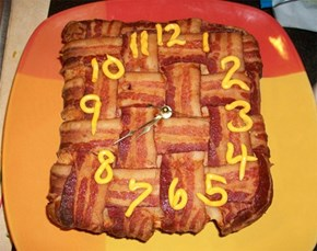 Bacon Clock of the Day