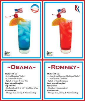 Let's Introduce Politics Into Our Drinking!